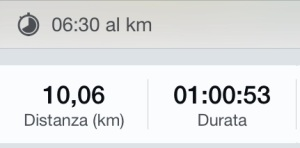 Alberto il 19 maggio 2014 ha corso 10 km in un'ora e 53 secondi. Tra 12 giorni riuscirà a correre la sua prima marcia in meno di un'ora?