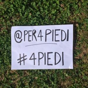 @per4piedi #4piedi sull'erba
